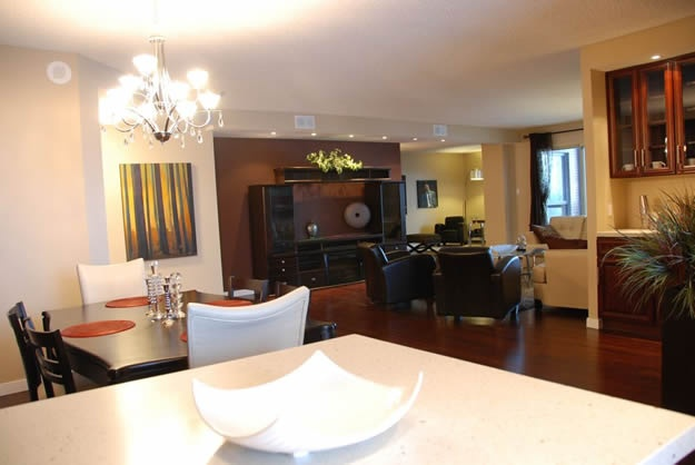 LDI - Tuxedo Condo Living Room/Dining Room