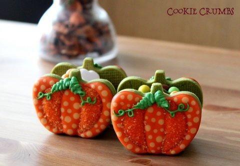 pumpkin basket | Cookie Connection