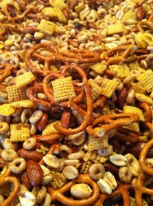 Scrabble - homemade snack mix, diy food gift, our family tradition!!