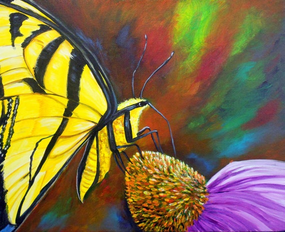 17 Best images about Butterfly paintings on Pinterest ...