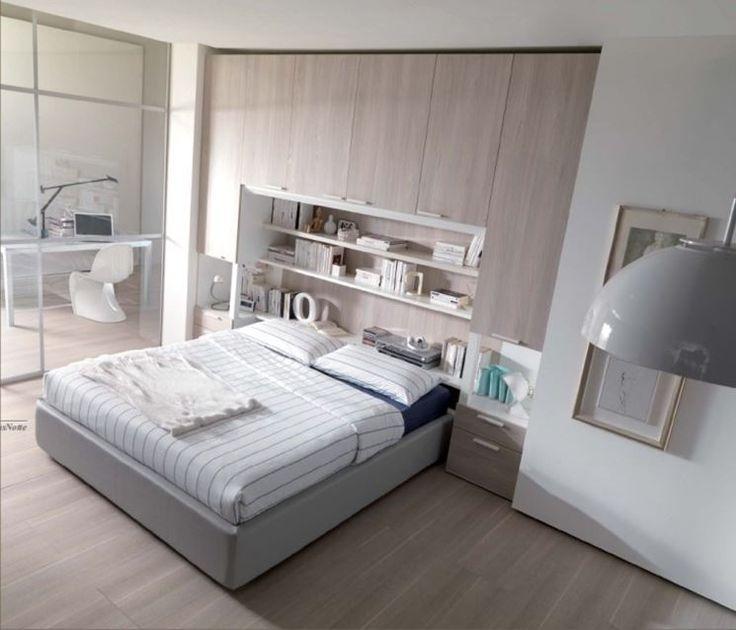 Oltre 25 fantastiche idee su design camera da letto piccola su pinterest scaffali per camera - Camera matrimoniale a ponte ...