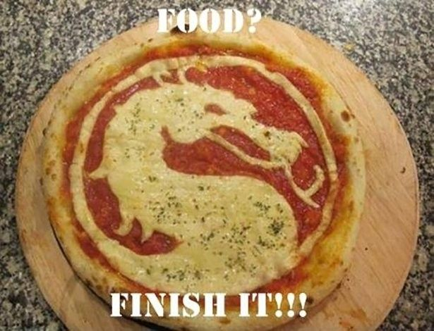 Mortal Kombat Food