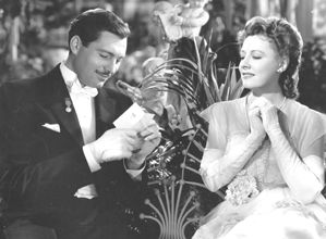 Alan Marshall and Irene Dunne in The White Cliffs of Dover