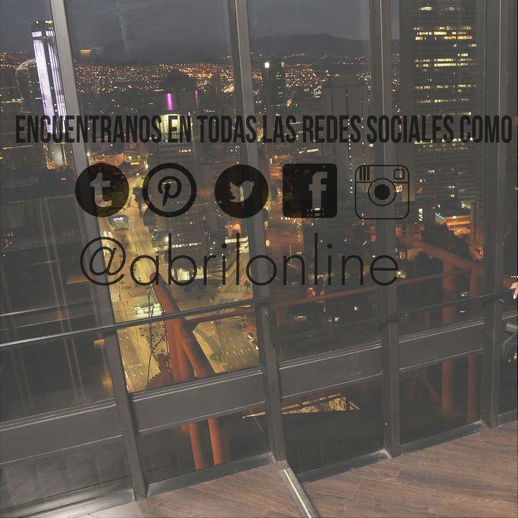 SIGUENOS EN TODAS LAS REDES SOCIALES COMO ABRIL online @abrilonline y mantente al tanto de todas nuestras promociones y nuevas colecciones. Vive tu estilo #viveabril www.tiendasabril.com