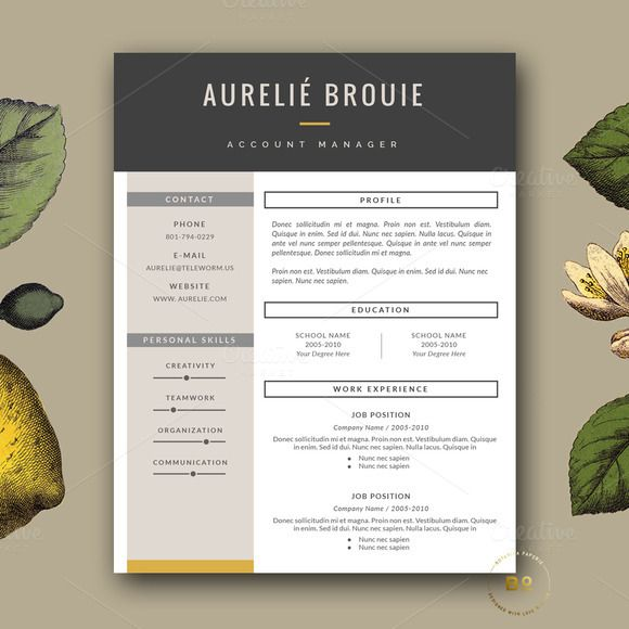 14 best cv images on Pinterest Cv template, Resume templates and - resume com review