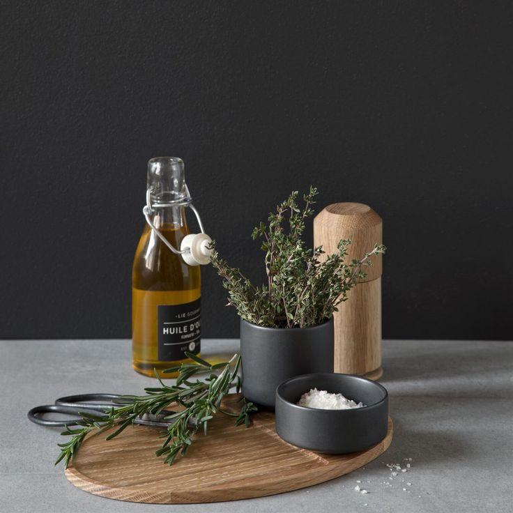 By Wirth - Serve Me Bowl - Skål - Lysegrå - skåle - servering - køkkentilbehør - køkkenudstyr - service - inspiration
