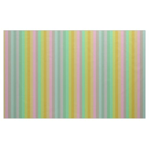 Pastel stripes pattern fabric