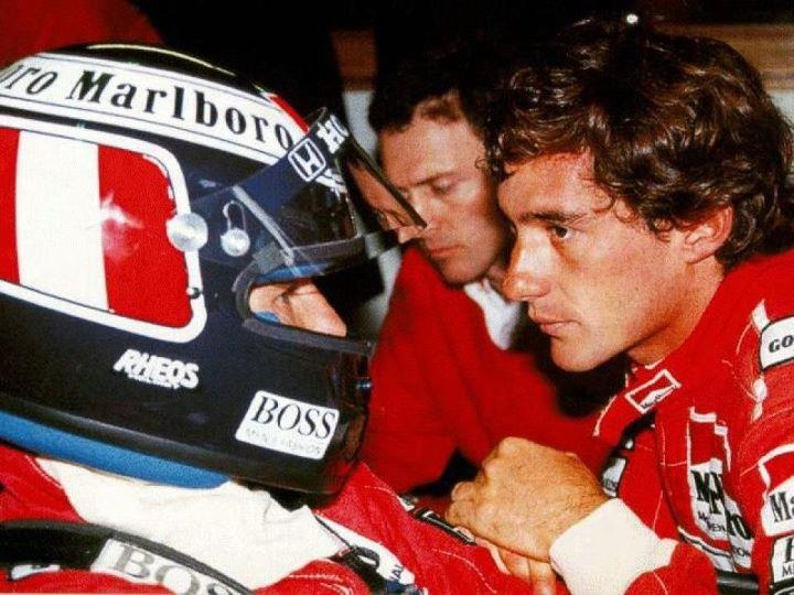 Gerhard and Ayrton