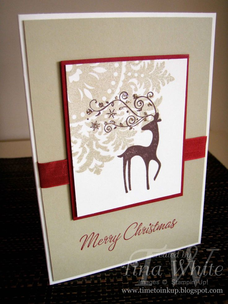 22 best Stampin Up- Dasher images on Pinterest | Christmas cards ...