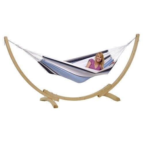 2 Persoons Hangmat Met Houten Standaard.Amazonas Hangmat Met Standaard Apollo Marine Websa Outdoor