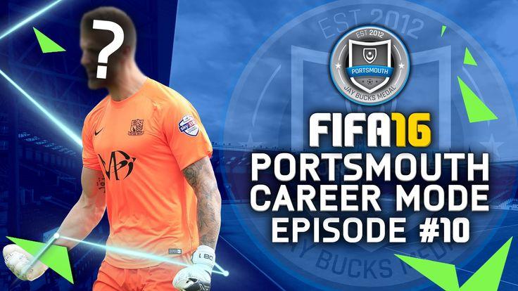 FIFA 16 | Portsmouth Career Mode #10 - OUR NEW KEEPER!!! #JayBucksRTGCar...
