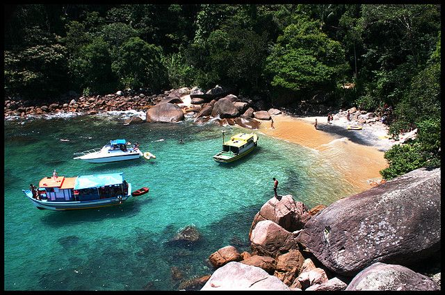 Praia do cachadaço- Ilha grande - Angra dos Reis