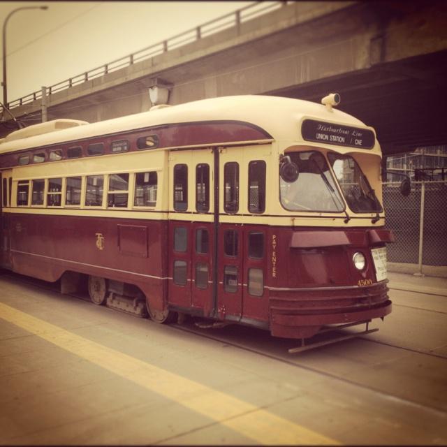 Vintage Toronto Streetcar.