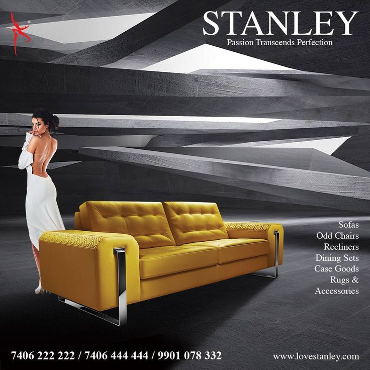 Smart Furniture That Strikes A Bold Note Speaks Of Living Through The Senses Stanley Sofasofascouchescanapessettees