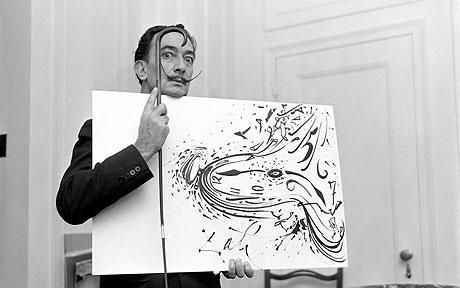 Salvador Dali !!! You don't know how much I love him!!! He also invented the logo for the Chupa Chups lollipops!! Inspiration!!
