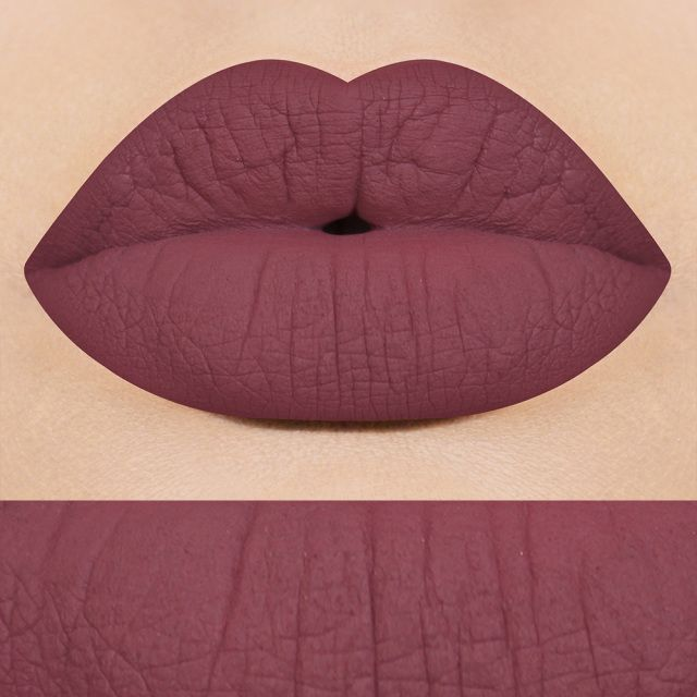 Liquid Lipstick || Matte- She's All That (mauve dusty rose)