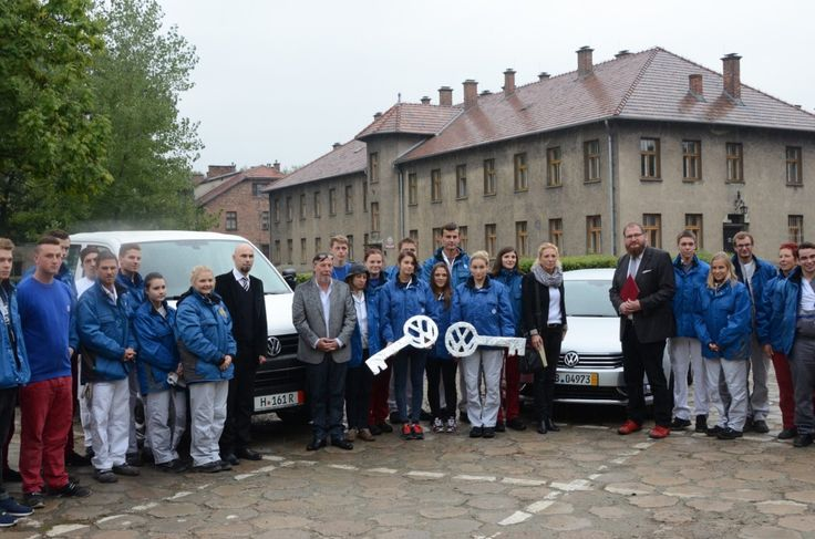 Auschwitz Museum received two cars as a gift from Volkswagen AG and the International Auschwitz Committee.  More: http://auschwitz.org/en/museum/news/a-gift-from-volkswagen-to-the-auschwitz-memorial,1173.html