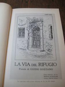 """Copertina della prima edizione de """"La via del rifugio"""". Libro presente in Biblioteca ad Acqui"""