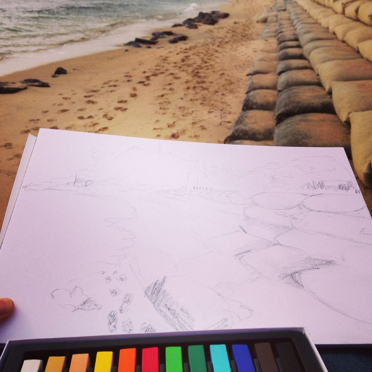 Drawing in Sorrento Victoria