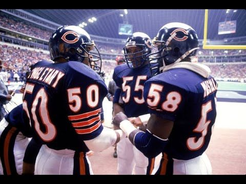Mike Singletary, Otis Wilson and Wilber Marshall. Texas Stadium November 17, 1985.