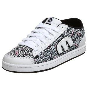 etnies Women's Lo-Pro-Baller Sneaker,White/Black,5.5 M US (Apparel)  http://documentaries.me.uk/other.php?p=B0017GQQ5E  B0017GQQ5E