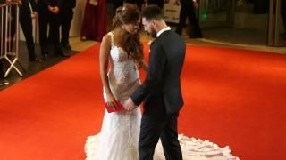 Welcome to News Junkies Blog: 1st pictures of Mr and Mrs Messi Emerge
