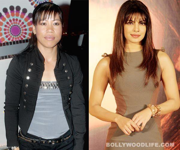 Mary Kom gave Priyanka Chopra boxing tips