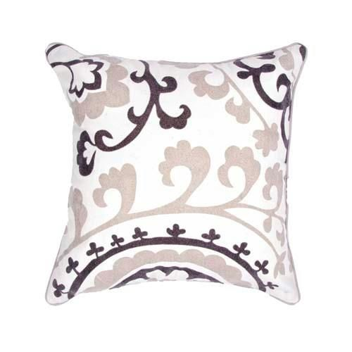 Pop nomad - Contemporary - 18 inch Pillow - Set of 2 -JAR-PLSQ825526-0001. Pop nomad - Contemporary - 18 inch Pillow - Set of 2 -JAR-PLSQ825526-0001 A fun , funky collection of pillows in 100% cotton, taking inspiration from suzani patterns which have been rescaled and updated .Colors mix black and .. . See More Decorative Pillows at http://www.ourgreatshop.com/Decorative-Pillows-C685.aspx
