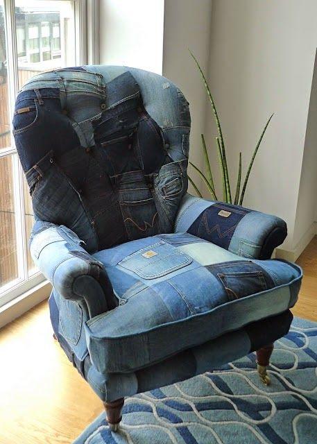 Upcycling : 25 idées pour réutiliser nos vieux jeans.   On aime le denim, c'est un peu notre seconde peau. Et on a beaucoup de peine de se...