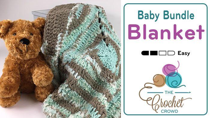 Crochet Baby Bundle Blanket It's soft, it's fabulous and it's quick… it's Bernat Baby Bundle. A yarn unlike any other