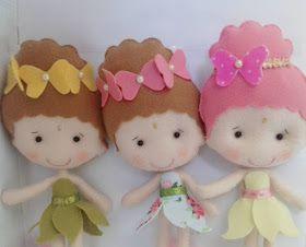 Artesanato em feltro, fada em feltro, molde de fadas, fairy felt, fairy decoration, felt craft, fairy handmade, craft fairy, moldes de feltro