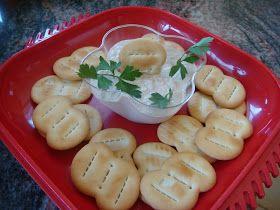 DOLCEmente SALATO: Mousse di tonno per crackers