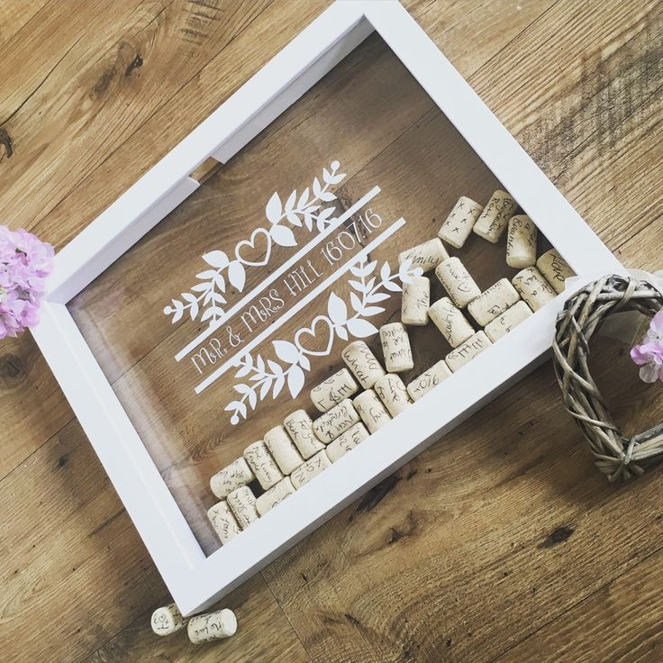 A personal favourite from my Etsy shop https://www.etsy.com/uk/listing/460012075/wedding-dropbox-guestbook-wine-cork