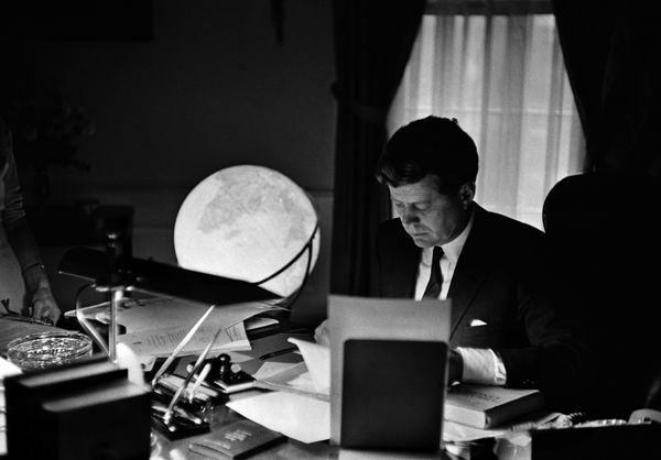 John F. Kennedy's Vision of Peace On the 50th anniversary of JFK's death, his nephew recalls the fallen president's attempts to halt the wa...