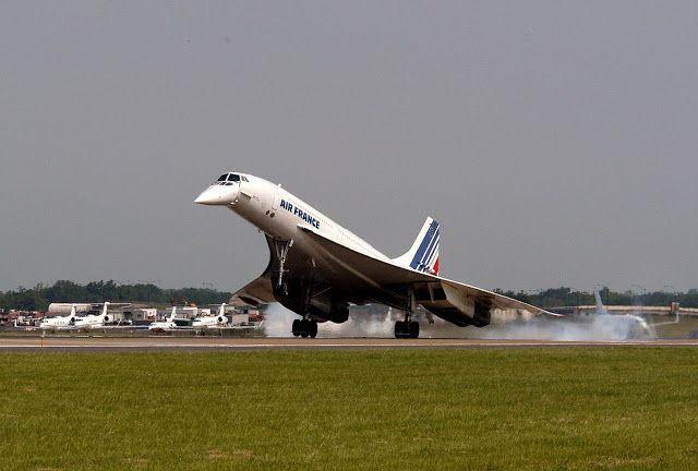 Air France Concorde Last Flight in May 2003