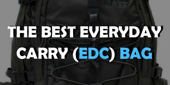 fter I wrote acomprehensive article on the variousEDC itemsyou can have on you every day, it only makes sens that I pair it up with oneon the best edc bag or backpack you can buy.