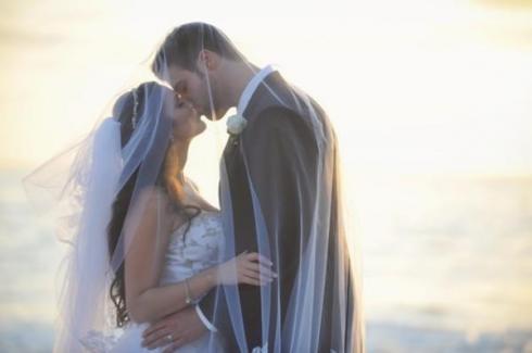 Jessica from Laguna Beach- pretty wedding pic!