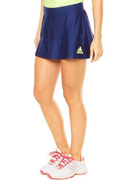 Saia adidas Performance Skort All Premium Azul - Marca Adidas Performance