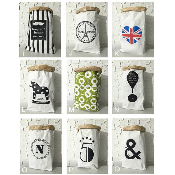 Kraft paper bags 11 / Paper Sack Storage / by Twomysterybox