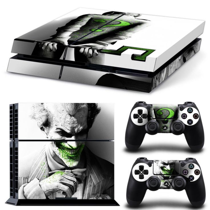 Green Joker Vinyl Cover Sticker For Playstation 4 DC World Shop http://dcworldshop.com/green-joker-vinyl-cover-sticker-for-playstation4/    #suicidesquad #superhero #dcuniverse #bataman #superman