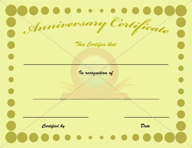 43 best ANNIVERSARY CERTIFICATE TEMPLATES images on Pinterest - best of pet health certificate template