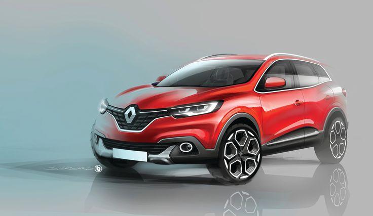 Relive the #design birth of #RENAULT #KADJAR - (c) Renault design
