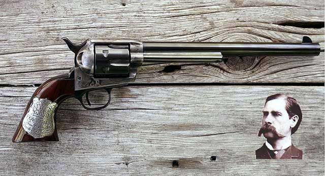 Colt Peacemaker Wyatt Earp When Guns were Guns