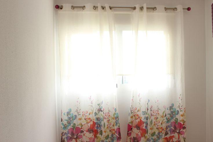 Decoración primaveral con Leroy Merlin #1000detalles1000ideas #cortinas #sábanas #flores #decoración #primavera #spring #LeroyMerlin #summer #deco http://1000detalles1000ideas.com/