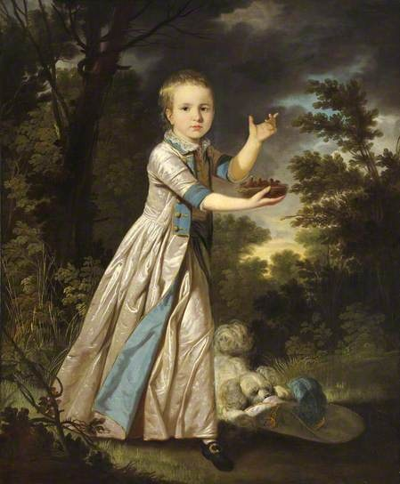 Master George Edward Graham (1771–1834), Later George Edward Graham-Foster-Pigott by Tilly Kettle, 1774. National Trust