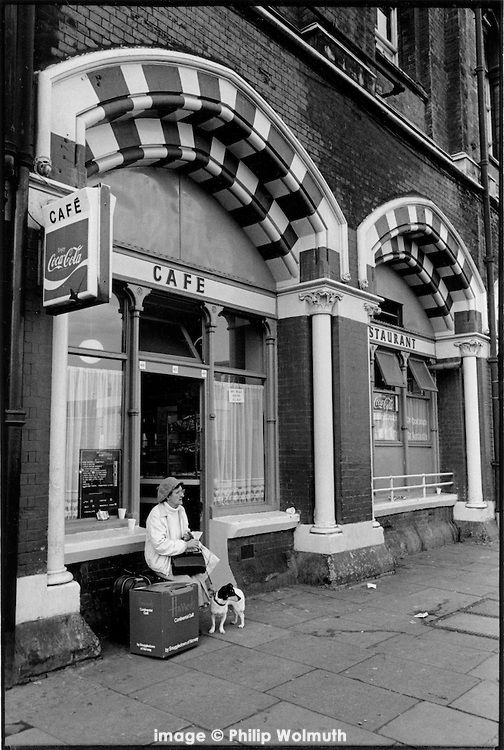 Railway Cafe, Pancras Road, King's Cross, London 1989. Reminds me of a youtube vide of the song Devil's Road with photos of Alice Ormsby Gore