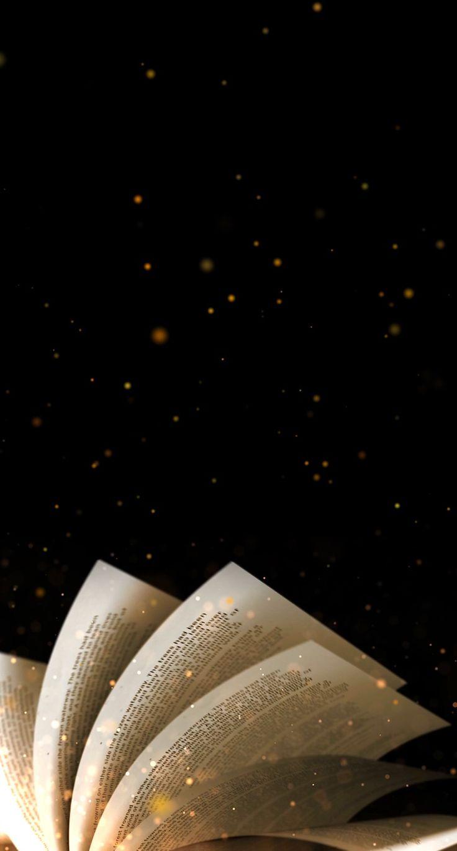 wallpaper   books   reading   dark   black   stars