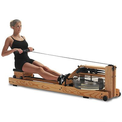 The WaterRower Club rowing machine is hands down the most sought after commercial rowing machine for serious rowers and fitness enthusiasts. Its unique design allows it to closely mimic the actual feel of real-water rowing. Ultimately, if you have a good chunk of change to spend and you want the best of the best, the WaterRower Club is definitely the machine to get.