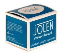 £2.79 - Jolen Creme Bleach 30ml Regular Lightens excess dark hair on face, arms, body and brow. Do not use near eyes or other sensitive areas.