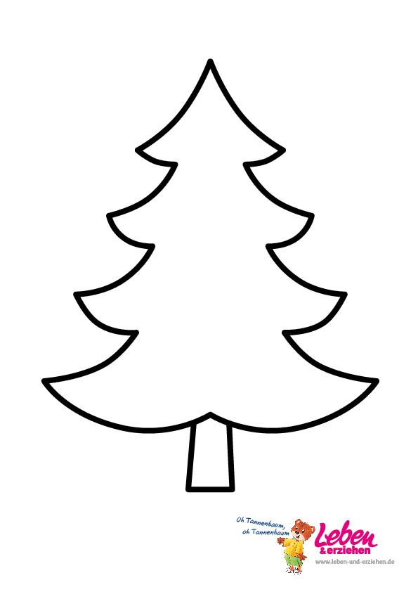 weihnachtsbaum vorlage 05